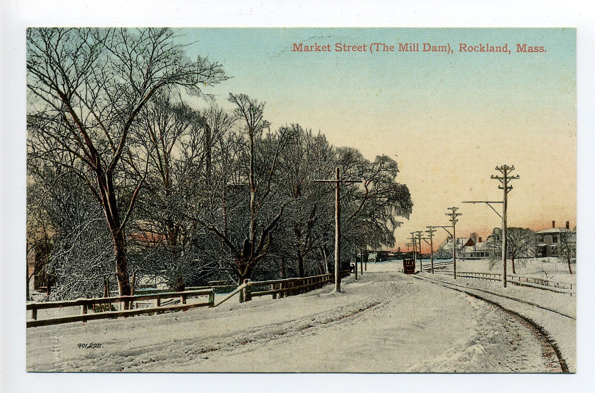 Market Street & The Mill Dam, Rockland