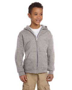 Champion Eco® Youth 9 oz. Full-Zip Hood