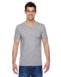 Fruit of the Loom 4.7 oz., 100% Sofspun™ Cotton Jersey V-Neck T-Shirt