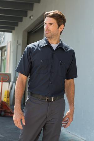 Red Kap® Long Size, Short Sleeve Industrial Work Shirt (LONG)