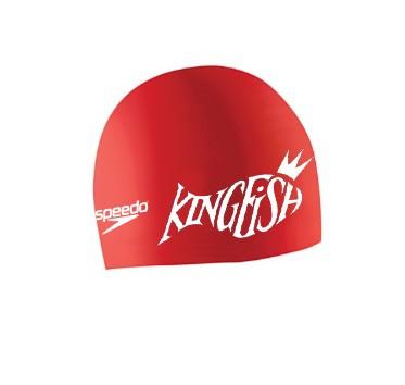 Kingfish Swim Team Speedo Brand Latex/Silicone Swim Cap - Special Order Item- IN STOCK