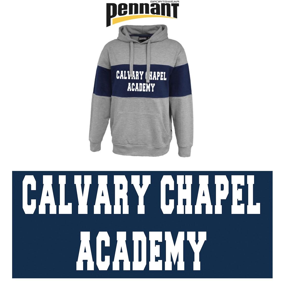 Calvary Chapel Academy Pennant Sportswear Spoiler Hoodie, Unisex Adult