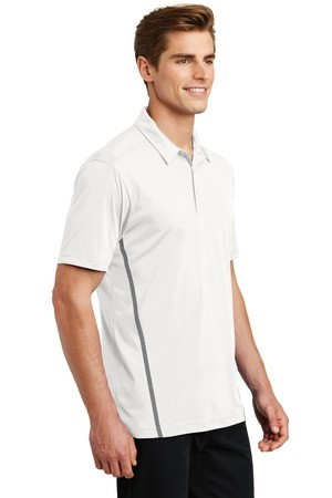 Sport-Tek Contrast PosiCharge Tough Polo ST620