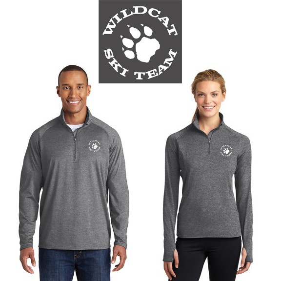 Wildcat Ski Team SanMar SportTek Performance Pullover (Mens & Womens)