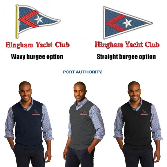 Hingham Yacht Club Port Authority® Sweater Vest For Men