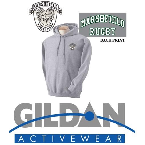 Marshfield Rugby Gildan Adult DryBlend® Adult 9 oz., 50/50 Hood