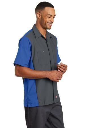 Red Kap® Short Sleeve Ripstop Crew Shirt