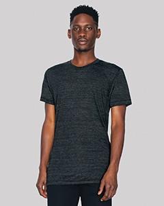 American Apparel Unisex Triblend Short-Sleeve Track T-Shirt TR401