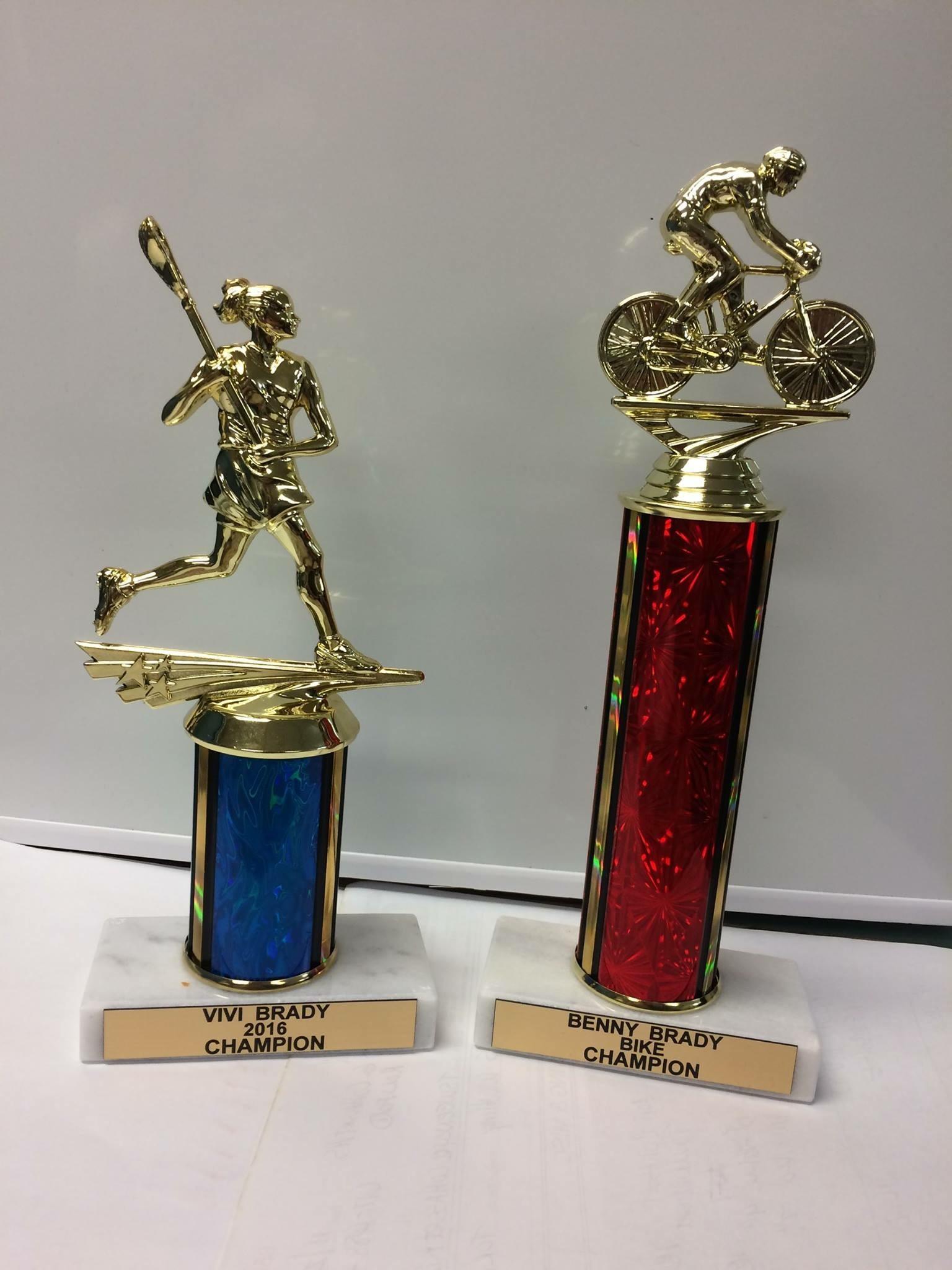 Trophies for Tom Brady!