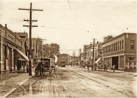 Union Street, Rockland, photo estimated between 1883 and 1901