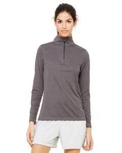 All Sport for Team 365 Ladies' Quarter-Zip Lightweight Pullover