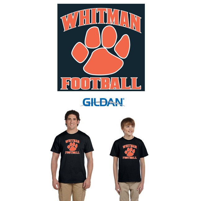Whitman Youth Football, Adult & Youth Tees