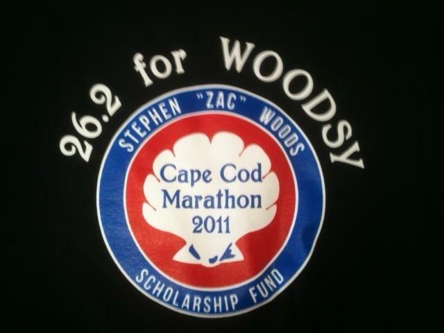 Woodsy Cape Cod Marathon 2011