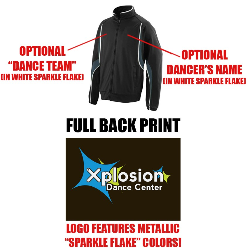 Xplosion Dance Center Augusta Rival Jacket, Adult