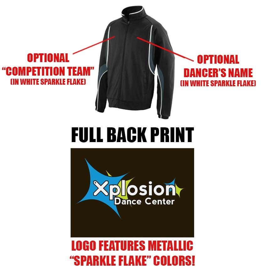 Xplosion Dance Center Augusta Rival Jacket, Adult