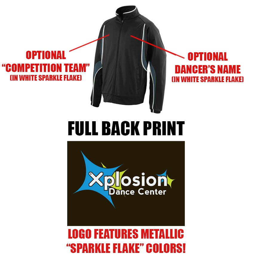 Xplosion Dance Center Augusta Rival Jacket, Youth