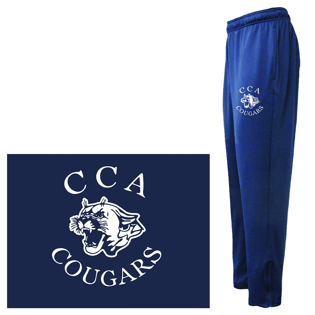 Calvary Chapel Academy Pennant Pre-Game Pant, Adult Sizes