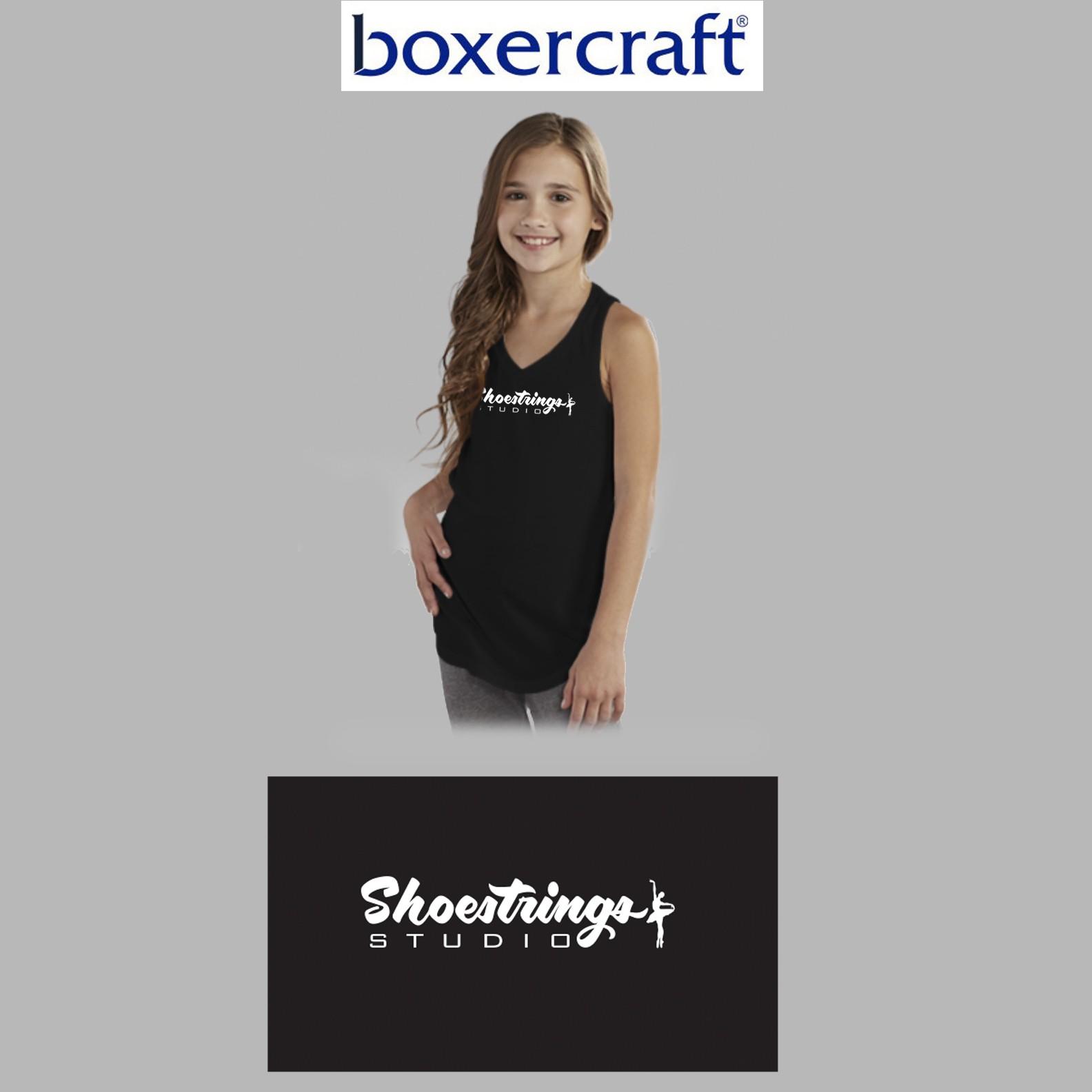 Shoestrings Studio Boxercraft At Ease Tank, Youth